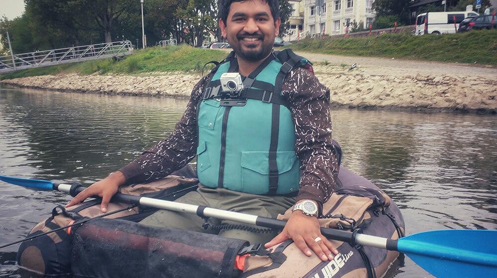Bellyboat meine erste Erfahrung