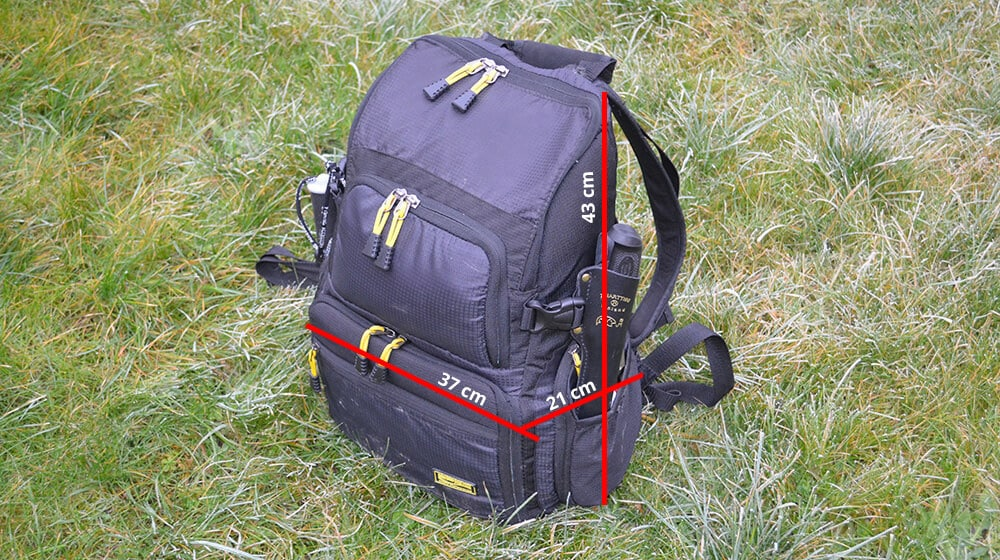 SPRO-Backpack-size