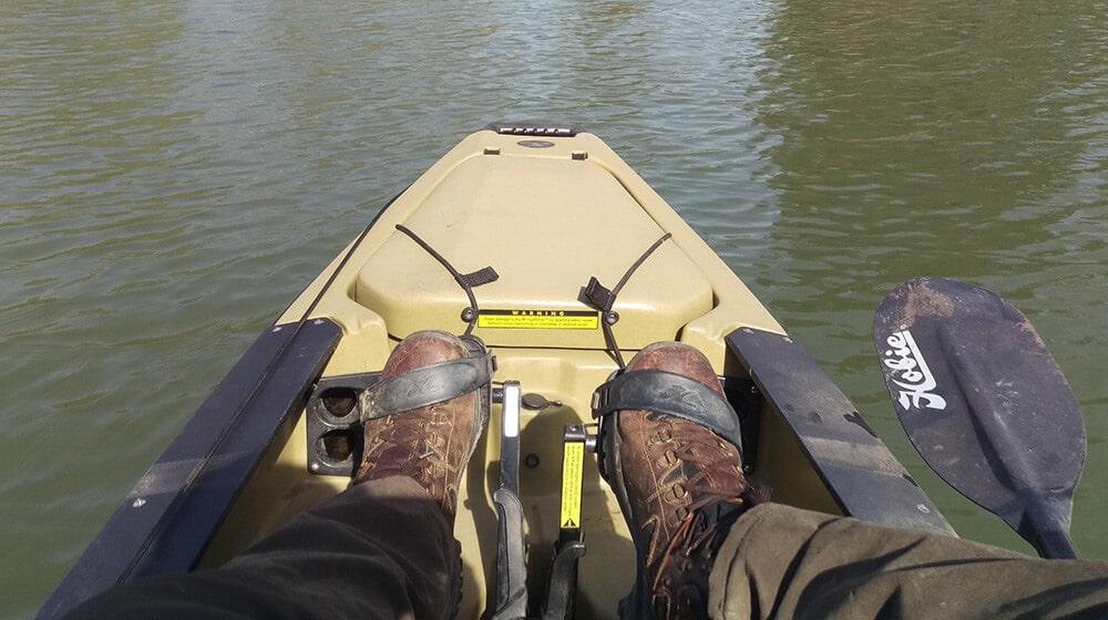 Hobie Pro Angler 12 Bug Lademöglichkeit