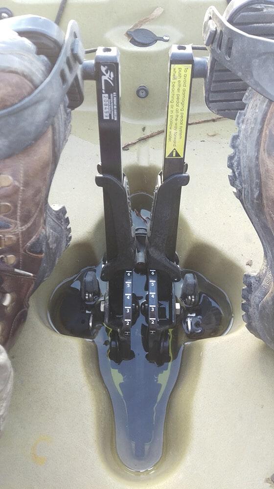 Hobie Pro Angler 12 Pedale Einstellung