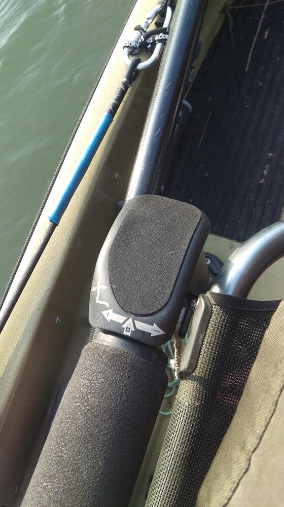 Hobie Pro Angler 12 Rückenlehne Einstellung