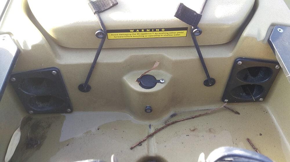 Hobie Pro Angler 12 Ruten einsteckbar