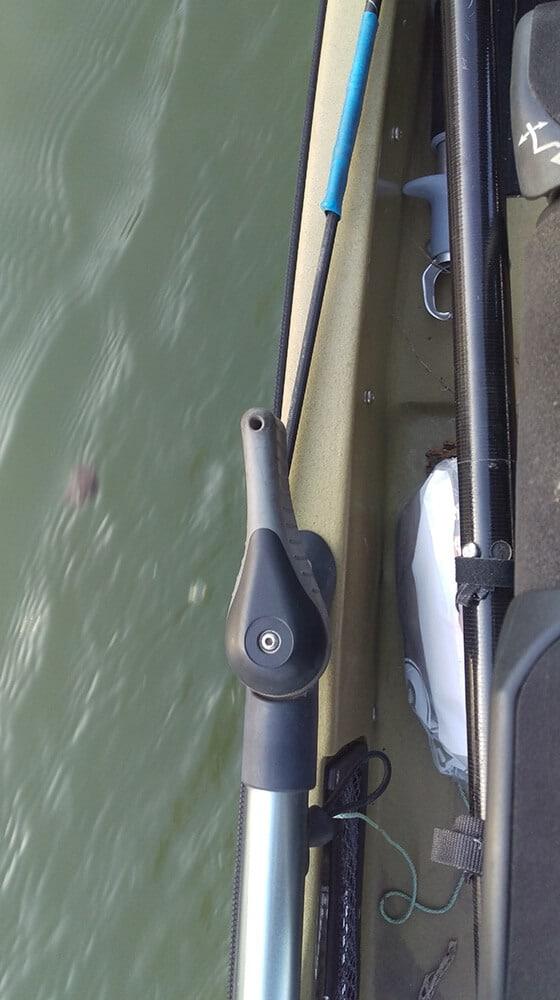 Hobie Pro Angler 12 Steuerruder Hebel links