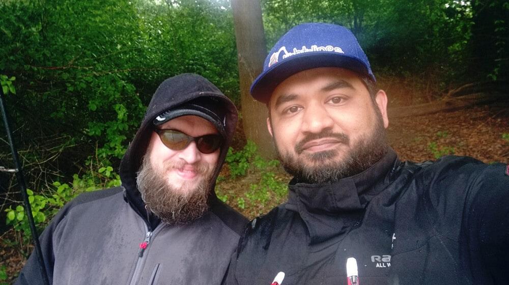 tight-lines meets barsch-junkie Selfi